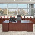 escritorio de director / clásico / de madera - FOOTPRINT®