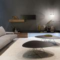 mueble de salón moderno - E45, HORIZON E CUBODIECI by Roberto Gobbo