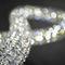 Lámpara araña moderna / de cristal / de acero inoxidable pulido / LED INFINITY Manooi