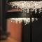 lámpara de mesa / moderna / de cristal / hecha a mano