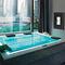 spa sobre suelo / rectangular / 4 plazas / de exterior