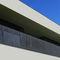 Barandilla de metal / con paneles / de exterior / para terraza BPLAN