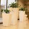 jardinera de polietileno / vertical / moderna / para espacio público