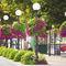 jardinera de acero galvanizado / moderna / para espacio público