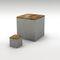 caja de almacenamiento de hormigón