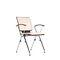 silla de visita moderna / con reposabrazos / apilable / con mesita