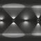 luminaria suspendida / LED / de vidrio / de aluminio fundido