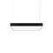 luminaria suspendida / LED / rectangular / lineal