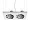 downlight suspendido / LED / cuadrado / rectangular