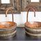 lavamanos sobre encimera / redondo / de cobre