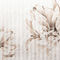 Papeles pintados modernos / de tela / de vinilo / con motivos florales DELHIA Skinwall