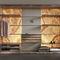 Vestidor de pared / moderno / de madera / con iluminación integrada VANILLA SKY Elite Stone