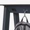mesa alta moderna / de acero con revestimiento en polvo / de zinc / de HPL