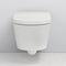 inodoro suspendido / inteligente / de porcelana / con cisterna empotrada