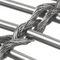 malla metálica para fachada / de acero inoxidable / de malla larga