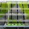 revestimiento de fachada de rejilla / de acero inoxidable / lacado / aspecto metal