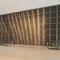 panel decorativo de acero inoxidable / de malla metálica / de pared / texturado