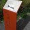 panel de señalización de pared / para suelo / aluminio / acero