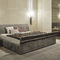 cama de matrimonio / moderna / tapizada / con cabecero