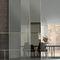 puerta de interior / corredera / de madera / de vidrio