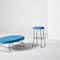 taburete de bar moderno / de tejido / para el sector servicios / tapizado