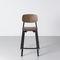 silla de bar moderna / apilable / de aluminio / de polipropileno