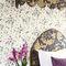 papel pintado moderno / con motivos florales / sin tejer / impreso100/6027 SWEET PEACole&Son