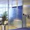 tabique fijo / acristalado / para oficina