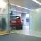 Separador para oficina para suelo / de vidrio FLOOR FIXED Shopkit