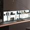 estantería moderna / de vidrio / para cocina / con luzAIR LOGICA SYSTEMVALCUCINE