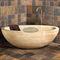bañera independiente / ovalada / de piedra naturalCastello Luxury Baths