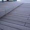 tarima de exterior de madera compuesta / aspecto madera / impermeable / reciclada