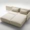 sofá modular / cama / moderno / de tejido