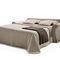 sofá cama / clásico / de tejido / 2 plazas