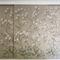 papel pintado oriental / de seda / con motivos florales / hecho a mano