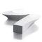 Banco público / de diseño original / en material compuesto / modular WAVE by Stéphane Chapelet LAB23