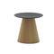 mesa de centro moderna / de madera / redonda / de interior