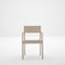 silla moderna / con reposabrazos / de madera / para el sector servicios