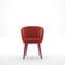 sillón moderno / de tejido / tapizado / para el sector servicios