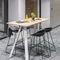 mesa alta moderna / de madera / rectangular / para el sector serviciosAHREND AERO by Marck HaansAhrend