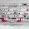biblioteca mural / moderna / para oficina / para el sector servicios