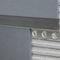 perfil de separación de madera / de aluminio / para baldosas / con listel decorativo