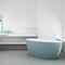 Bañera independiente / ovalada / de mineral compuesto / hidromasaje SPACE 180x85 HIDROBOX - ABSARA