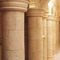 columna de piedra reconstituida