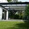 pérgola autoportante / adosada / de aluminio termolacado / de vidrio