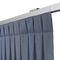 Riel para cortina con fijación mural / con accionamiento manual / para cortinas fruncidas / para ventana KUADRO MOTTURA