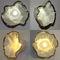 aplique moderno / de metal / de porcelana / LED