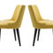 silla moderna / tapizada / a medida / de tejido
