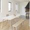 banco moderno / de madera / para uso residencial