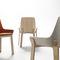 silla moderna / tapizada / de tejido / de roble